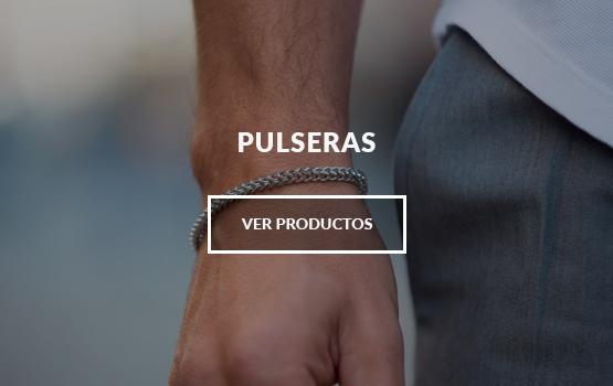 pulseras hombre